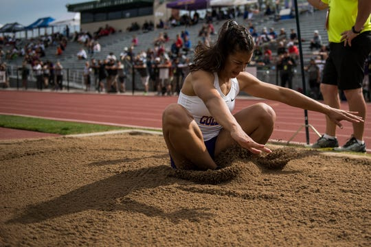 Fort Collins High School's Taryn Burkett was named first-team all-state in Class 5A in track and field.