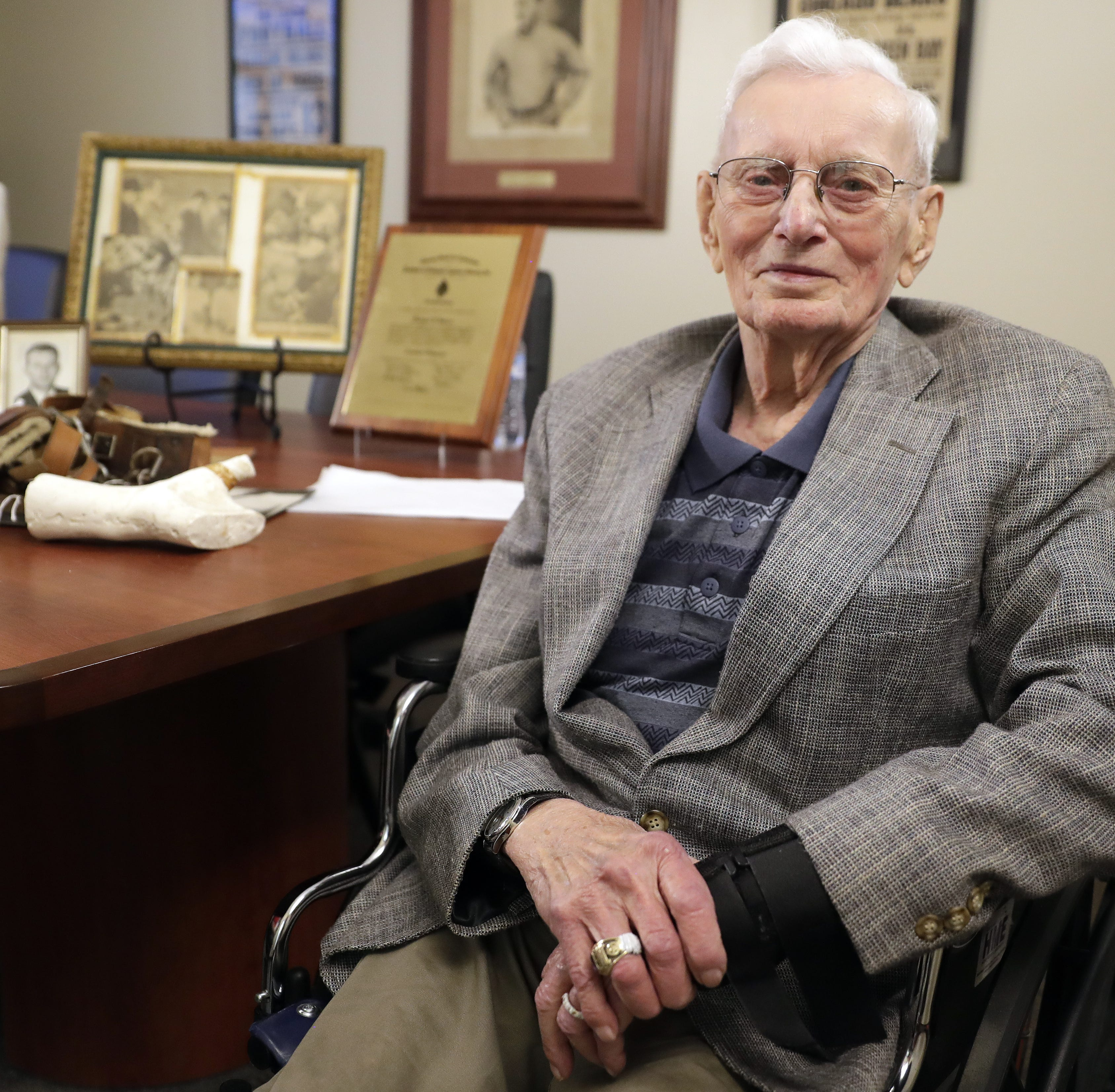 From Bowman's shoulder to Starr's ribs, orthotist Richard Jubert helped keep Packers on the field