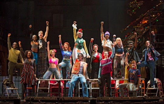 """The 20th anniversary tour of """"Rent"""" makes a stop at the Weidner Center on Oct. 9."""
