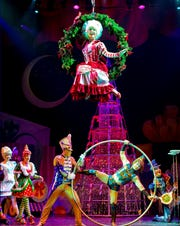 Cirque Dreams Holidaze features 20 acts and 300 colorful costumes for a performance on Nov. 21.