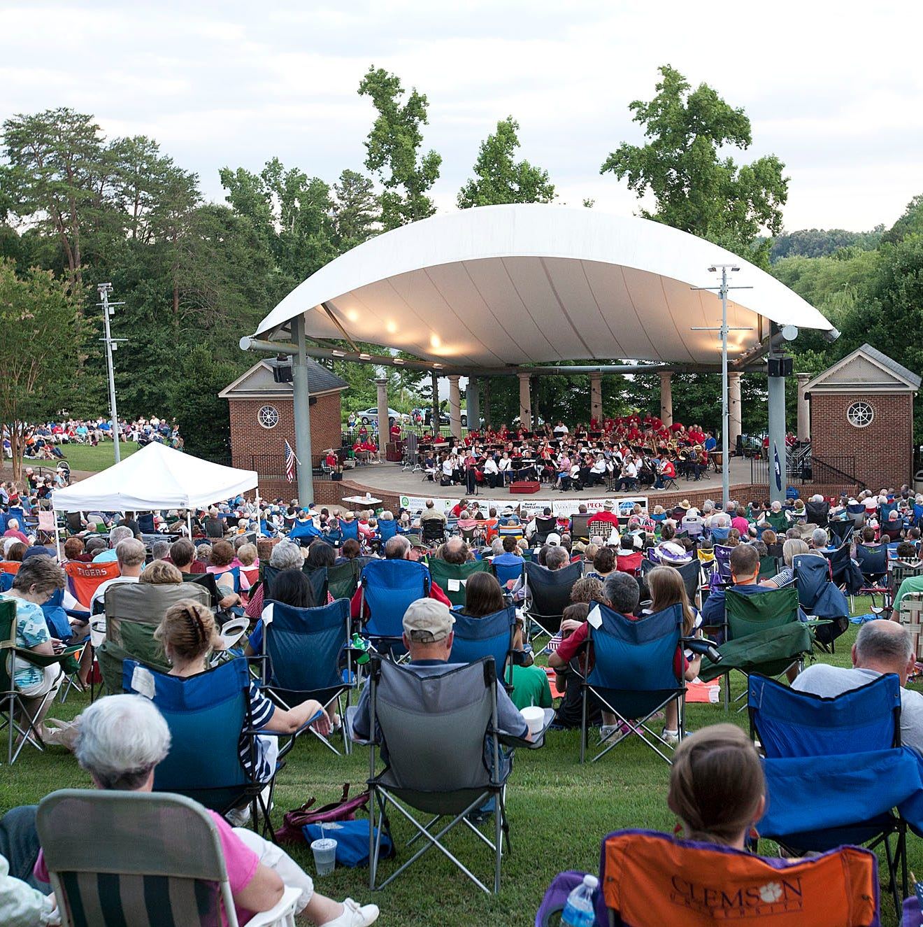 Furman's 'Music by the Lake' concert series kicks off May 23. Here's the full schedule