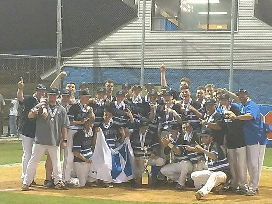 Eastside defeated Midland Valley, 8-7, Wednesday night to capture the Class AAAA baseball championship