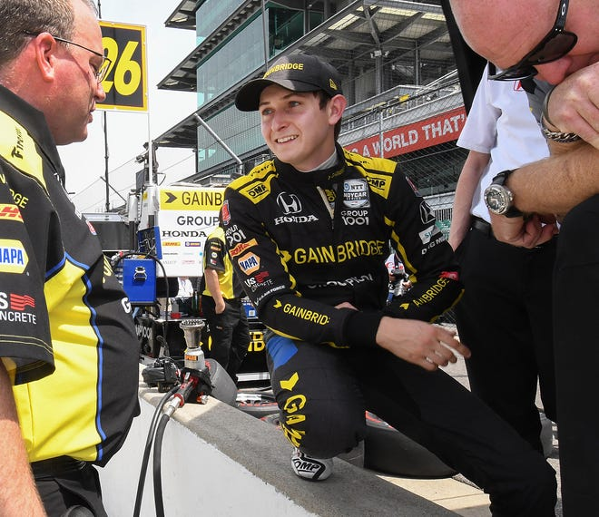 Ohio native Zach Veach is in his second season racing for Andretti Autosport in the IndyCar Series.