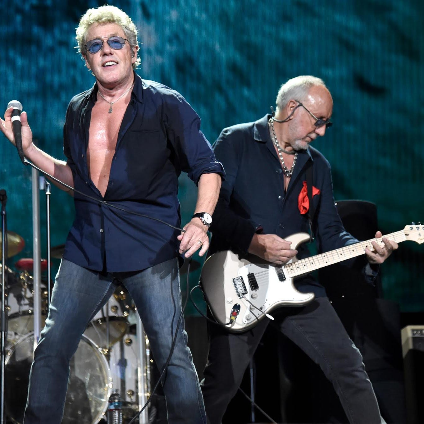 Pete Townshend and Roger Daltrey meet in the middle to keep the Who moving after 55 years