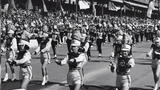 """The Purdue """"All-American"""" Marching Band has become an integral part of the Indy 500 over the last 100 years. It first played the race in 1919."""