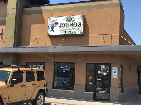 Zio Johno's will remain located at 953 S Riverside Dr until it moves to it's new location along Highway 1 sometime during summer 2019.