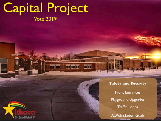 The Ithaca City School District wants to improve safety and security at different school with items listed in the proposed 2019 Capital Project.