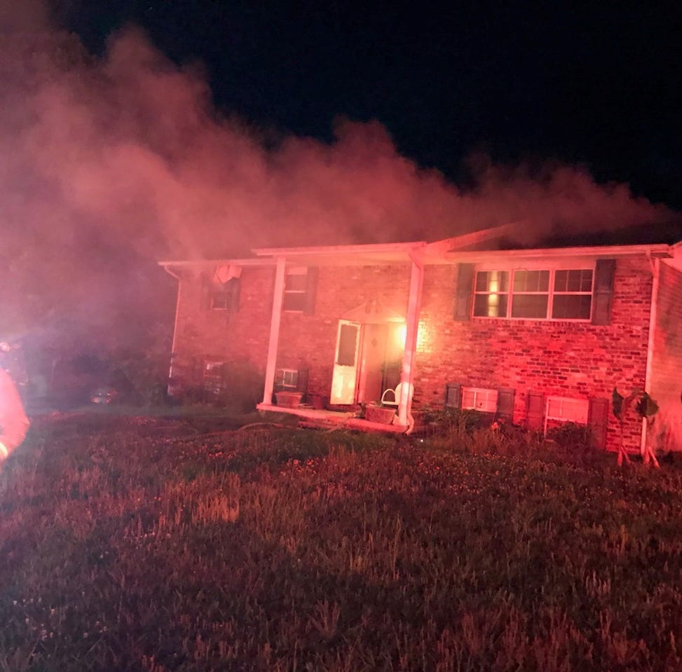 Juvenile taken into custody after Farragut house fire; family cat lost