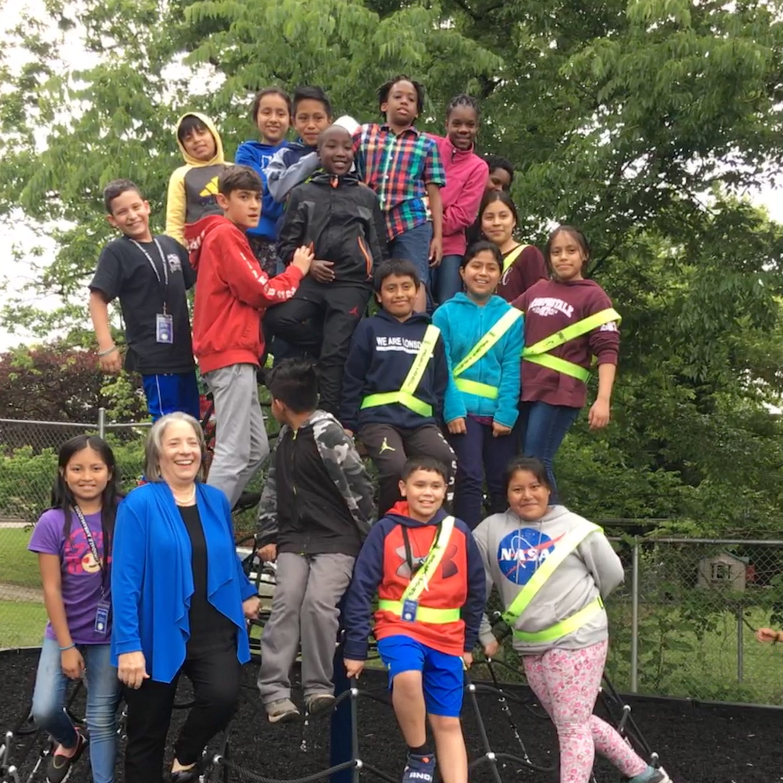 Shopper News blog: Lonsdale Elementary playground extension opens