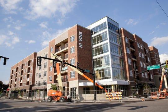 Hi Vine, 302 Vine st, Wednesday, May 15, 2019, in West Lafayette. Hi Vine is part of the State Street Corridor Developments.