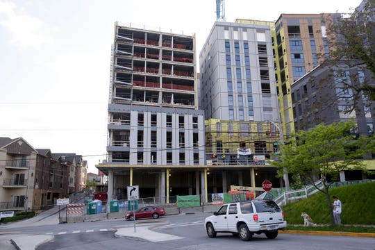 Hub Plus, at the corner of State st and Salisbury st, Wednesday, May 15, 2019, in West Lafayette. Hub Plus is part of the State Street Corridor Developments.
