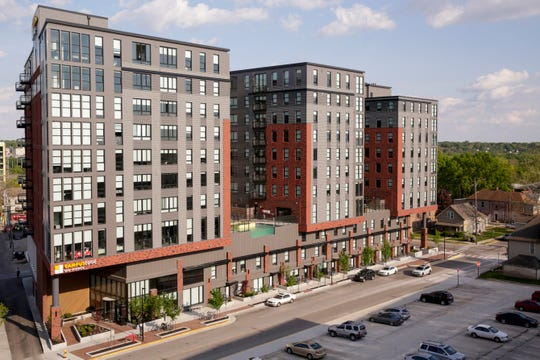Campus Edge, 134 Pierce st, Wednesday, May 15, 2019, in West Lafayette. Campus Edge is part of the State Street Corridor Developments.