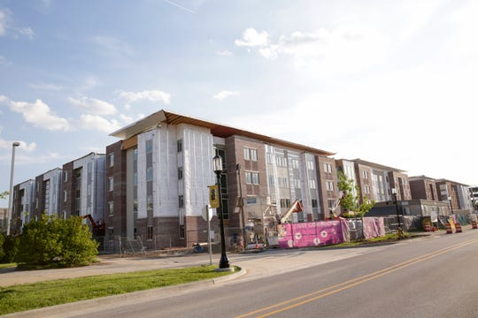 Aspire at Discovery Park District, 1245 W State st., Wednesday, May 15, 2019, in West Lafayette. Aspire is part of the State Street Corridor Developments.