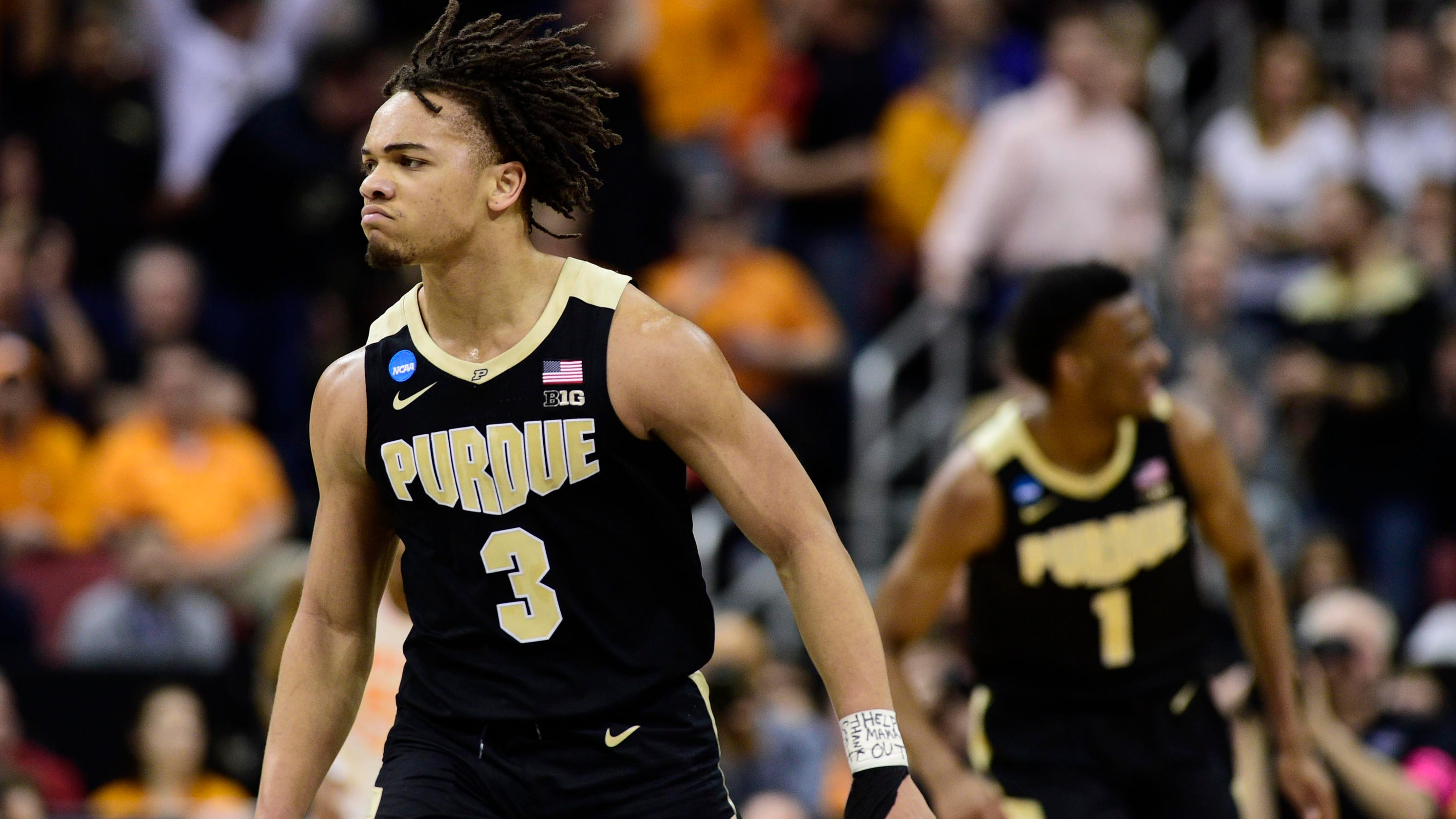 20d4d2d8bb55 Purdue basketball s Carsen Edwards preparing for undetermined NBA role