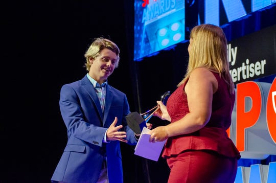 The Daily Advertiser host the annual Sports Awards at the Cajundome Wednesday, May, 15 2019.