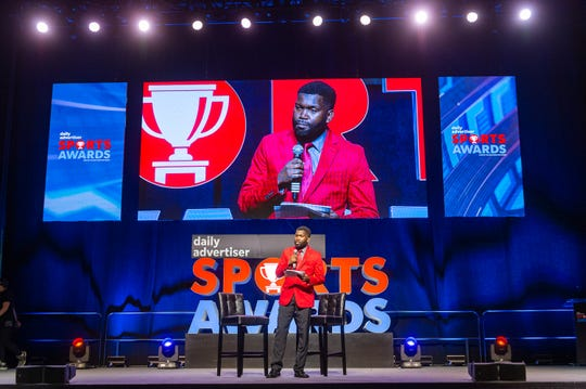 Eric Narcisse at The Daily Advertiser presents the Sports Awards. Wednesday, May 15, 2019.