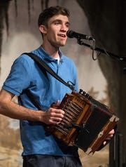 LeBlanc, who has played the accordion since he was 12, is also in a band traveling to Canada for the 2019 Acadian World Congress.