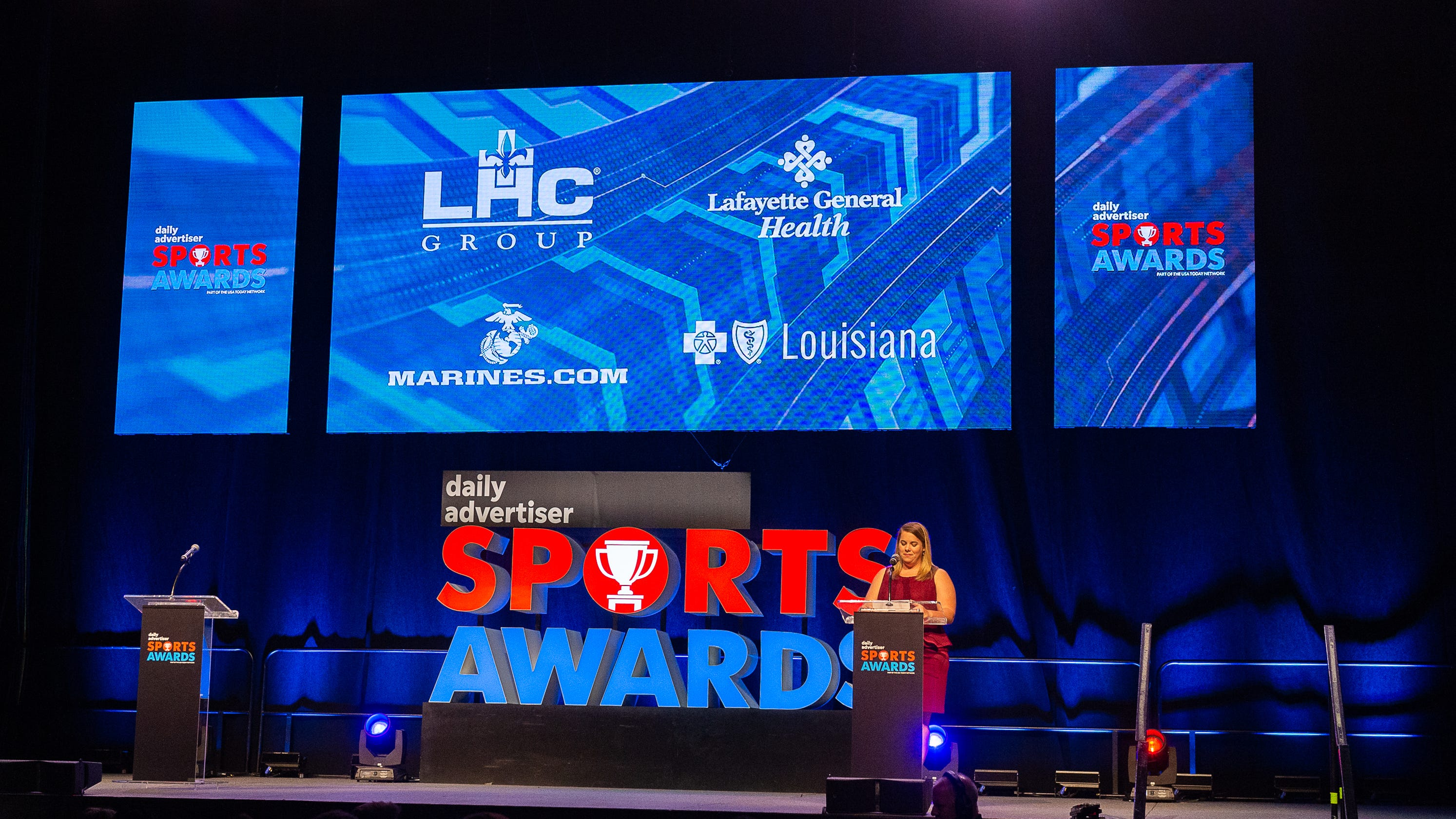 Watch the Daily Advertiser Sports Awards 2019 ceremony