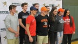 Howell athletes fulfilled long-time goals by signing with college programs.