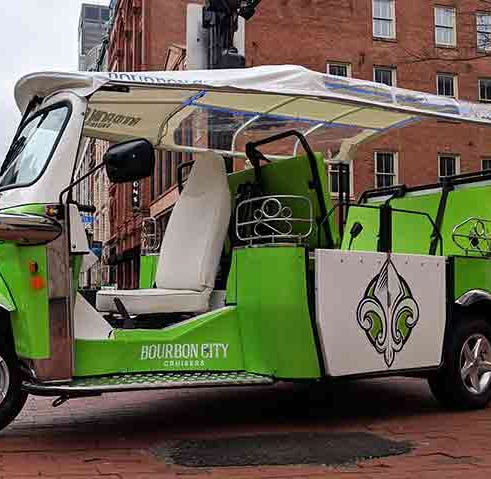 Louisville's newest transportation option? A mini-taxi that's popular in Asia and Africa