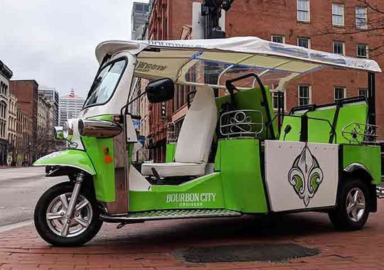 Bourbon City Cruisers launch Louisville Tuk Tuk Tours