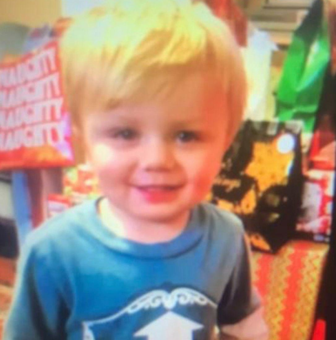 Rescued toddler found on cliff hailed as 'true Kentucky mountain boy'