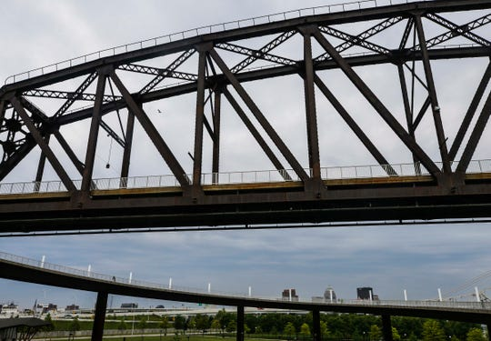 The Big Four Bridge's transformation into a pedestrian and bike-only way to cross the Ohio River from Indiana to Louisville has helped transform Jeffersonville, with more restaurants and businesses opening as well as thousands of people crossing the bridge daily.