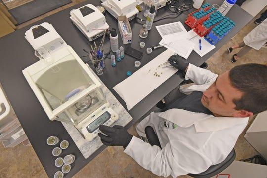 See inside an Ohio medical marijuana testing lab