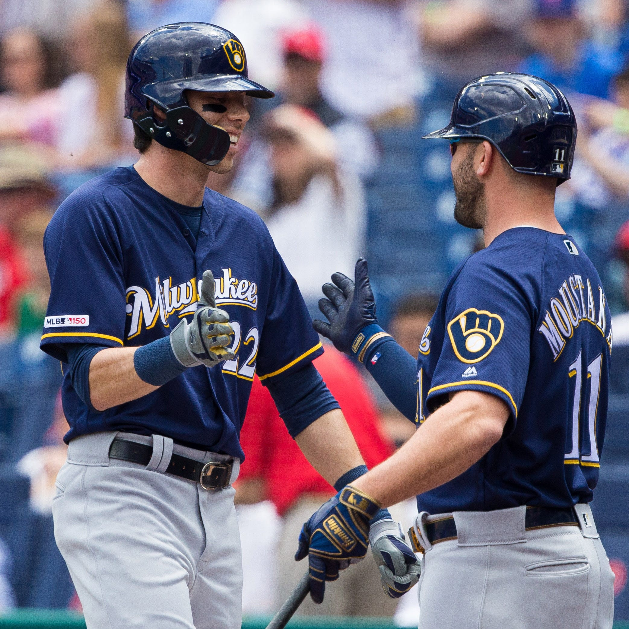 Brewers 11, Phillies 3: Christian Yelich slugs two more homers and offense keeps the pressure on