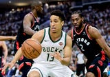 Malcolm Brogdon returned to the Buck lineup and played in the first game of the conference finals.