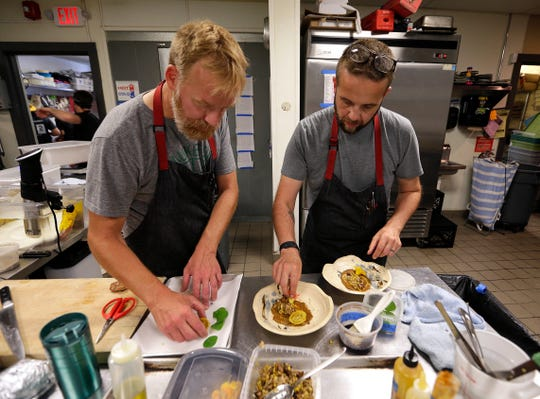 Dan Van Rite (left) and Dan Jacobs , co-chefs and co-owners of Ester Ev, Dandan and Fauntleroy in the Third Ward, will be among nearly two dozen chefs cooking for the Dim Sum + Give Some fundraiser June 23 at the Cooperage in the Harbor District.