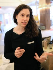 Maureen Ragalie, curator of the Saint Kate hotel, talks about the hotel's art .