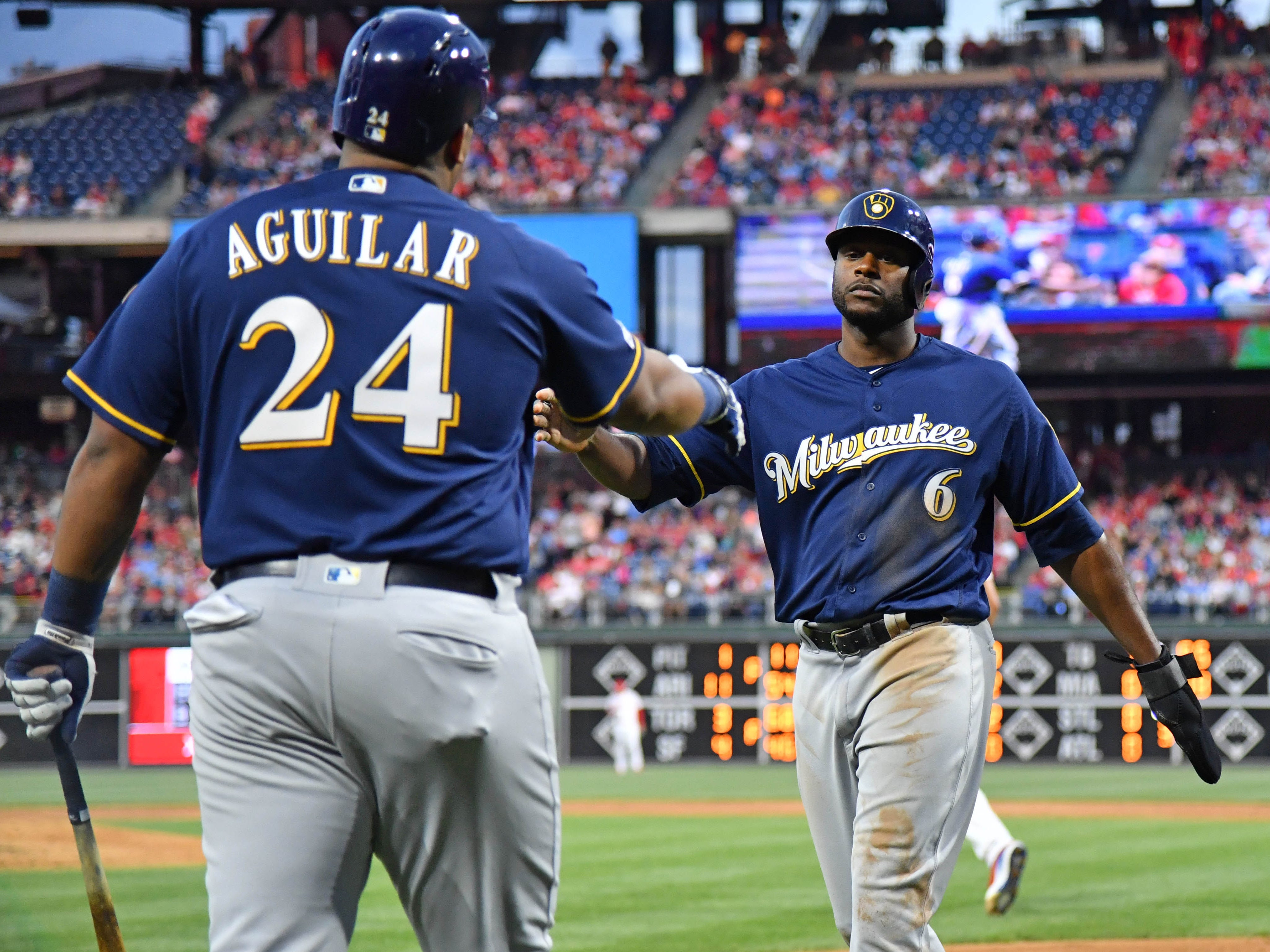 Brewers 5, Phillies 2: Gio Gonzalez continues his short-but-sweet formula