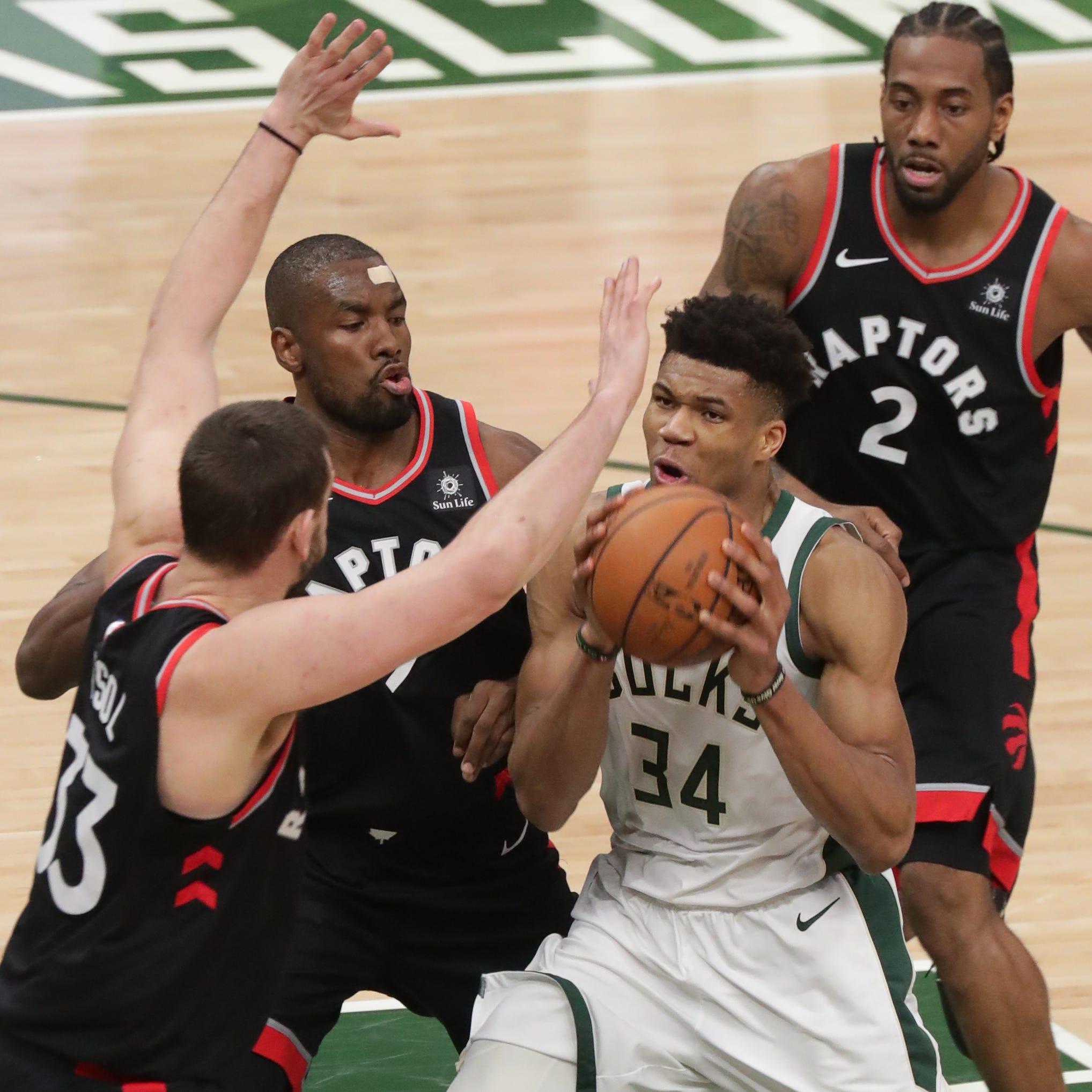 Live Coverage: Bucks-Raptors, Game 1