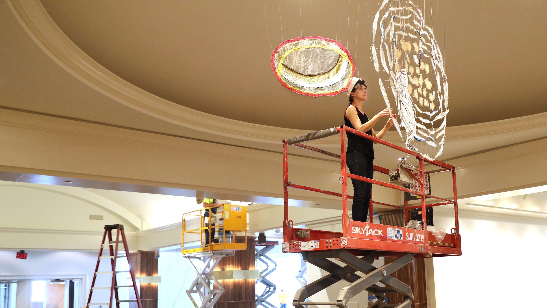 Art Installation Begins At Saint Kate Milwaukee S First