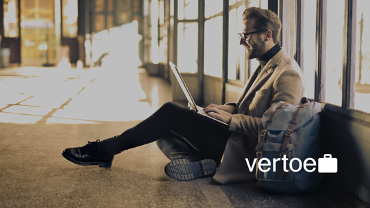 Vertoe is an on-demand short-term option for travelers to store their luggage for a few hours with local merchants.