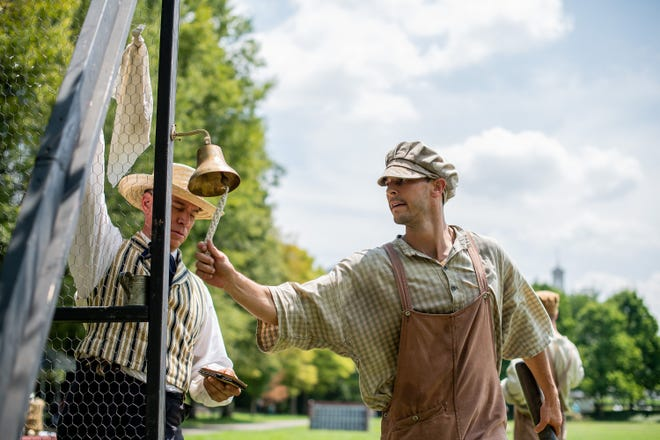 The the Tennessee Association of Vintage Base Ball is hosting its first Franklin vintage baseball festival this weekend.