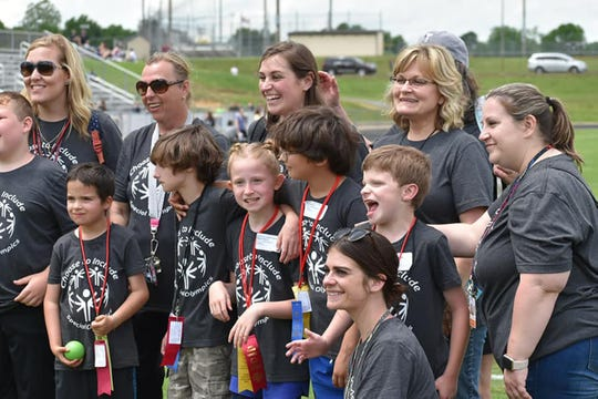 Everyone is a winner at 2019 Special Olympics in Fairview, May 2, 2019.