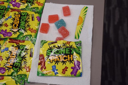 Hundreds of units of edible marijuana packaged to look like candy were seized by the Collier County Sheriff's Office.