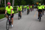 Naples Pathway Coalition hots Nation Ride of Silence to honor bicyclists who have been injured or killed, Wednesday, May 15, 2019, in Naples.