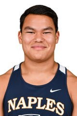 Jett Su, Naples High School's Winged Foot Scholar-Athlete Award finalist