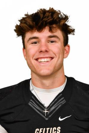 Jensen Jones, St. John Neumann High School's Winged Foot Scholar-Athlete Award finalist