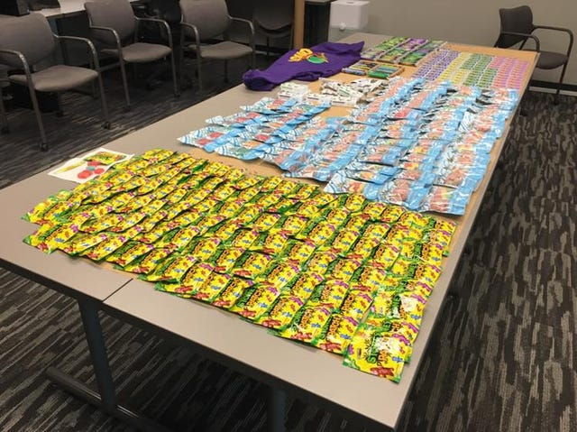 Collier County Sheriff's Office seizes 332 units of edible marijuana