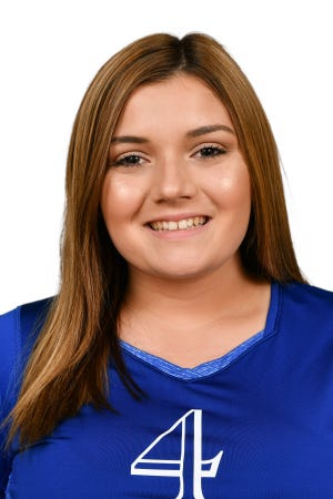 Natalie Thompson, Everglades City School's Winged Foot Scholar-Athlete Award finalist