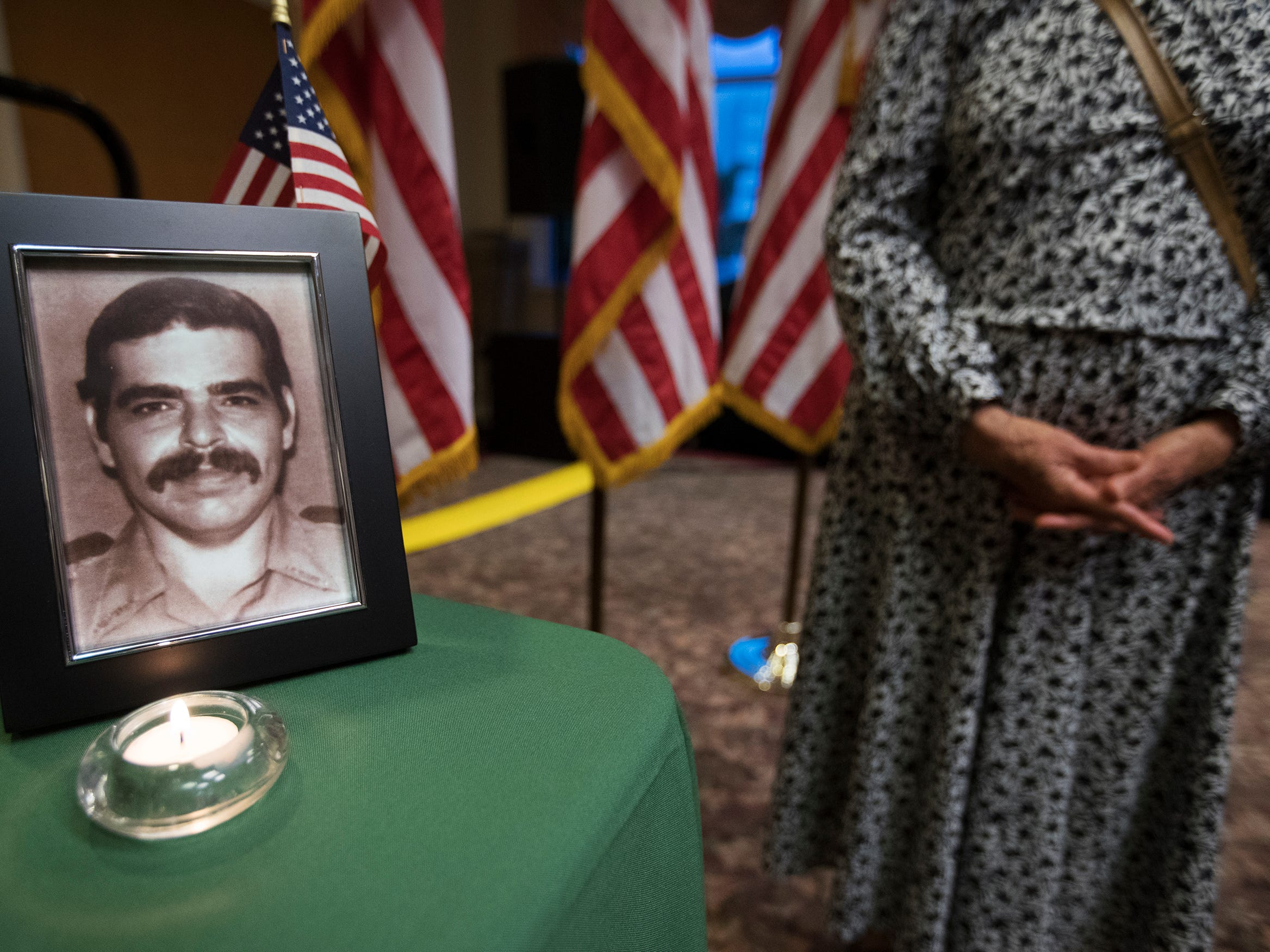 """Deputy Raul """"Rudy"""" Dimas Sr., of the Collier County Sheriff's Office, was among the local law enforcement officers killed in the line of duty, that were honored at a memorial on Wednesday at East Naples United Methodist Church. Thirteen officers have been killed in Collier County since 1928."""