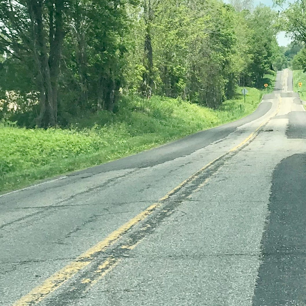County plans to resurface 28 miles of roads this year