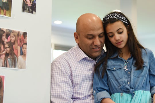 Nick Matahen and his daughter Zaina Matahen talk about what the past year has been like since the Paramus crash. Shown in their Paramus home on Thursday May 16, 2019.