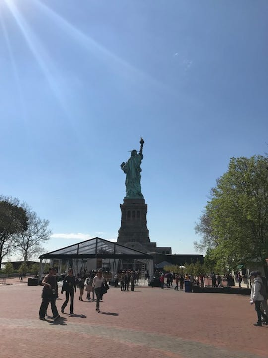 Dedication Ceremony for Statue of Liberty Museum held May 16, 2019 at Liberty Island.
