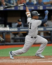 The New York Yankees said Miguel Andujar has elected to undergo surgery to repair his right labrum. The Yankees said he is not expected to return this season.