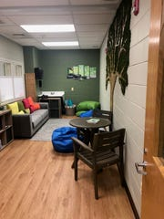 The new wellness room at Haworth Elementary School is open to its 400 children in grades K to 8.
